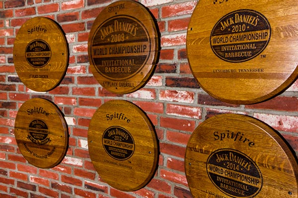 Spitfire Bar & Grill Jack Daniel's Awards