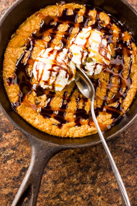 Skillet Cookie Temptation