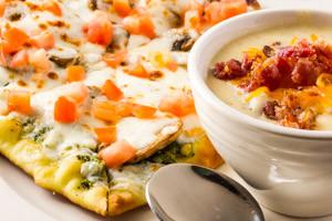 Flatbread & Soup Combo
