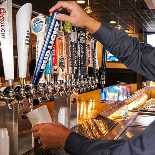 Spitfire Bar & Grill Detroit Lakes beer on tap